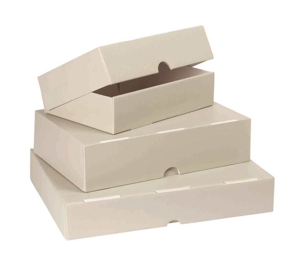 Caixas de arquivo em cartão \